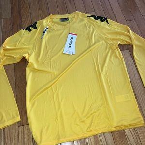Men's NWT Kappa Activewear Long Sleeve Shirt Sz.Lg